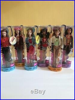 2004 Barbie FASHION FEVER Lot Of 6 RARE Dolls Teresa, Drew, Kayla NRFB