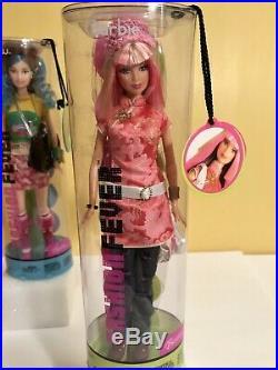 2004 Barbie FASHION FEVER Tokyo Pop RARE Lot Barbie, Teresa, Drew, Kayla NRFB
