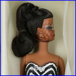 2008 Debut Silkstone Barbie Doll Fashion Model Collection NRFB Black AA