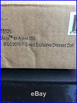 2016 IFDC Exclusive FR Integrity Anja As Agent 355 Fashion Royalty 12 Doll NRFB