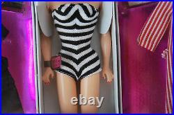 35th Anniversary Barbie Doll, Original 1959 Barbie Doll Fashions & Package, Nrfb