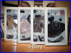 Barbie Fashion Model Silkstone Blush, Black, Boulevard, Spotted Lot NRFB G8073