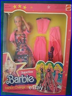 Barbie Vintage Superstar Fashion Change abouts #2583 1978 NRFB ultra rare VVHTF