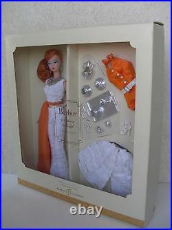 Barbie hollywood hostess silkstone fashion model collection gold 2007 NRFB K7900