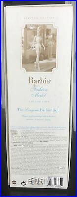 Blonde #1 LINGERIE Silkstone Barbie NRFB Fashion Model Collection 26930