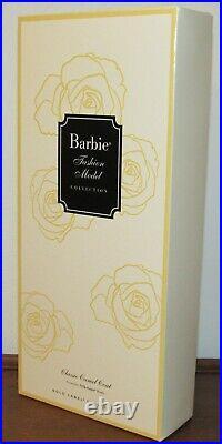 Classic Camel Coat Silkstone Fashion Model Barbie Doll #DGW54 NRFB Gold Label