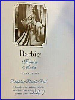 DELPHINE BARBIE DOLL SILKSTONE Barbie Fashion Model Gold Label NRFB