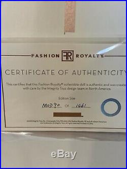 Fashion Royalty Eugenia Modernist 2018 Wclub Exclusive NRFB