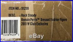 Fashion Royalty Romain Perrin Rock Steady 2011 W Club Exclusive NRFB