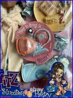Mga Bratz Slumber Party Sasha 1st Edition Original Nib Nrfb Fashion Doll Sealed