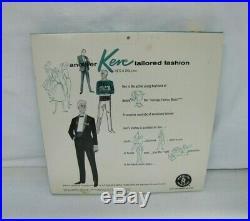 NRFB Vintage Barbie 1962 KEN DOLL TAILORED FASHION #789 YACHTSMAN OUTFIT Mattel