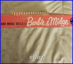 NRFB Vintage Barbie Clothing Set #1640 Matinee Fashion Original Mattel Dolls
