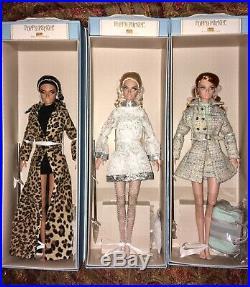 Poppy Parker doll lot Milan Tokyo London NRFB Fashion Royalty Integrity Toys Set