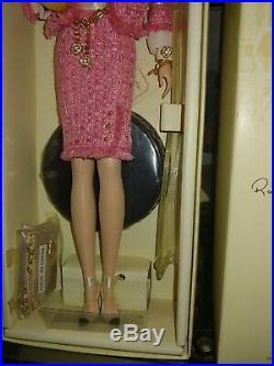 Preferably Pink 2008 Barbie Silkstone Gold Label NRFB