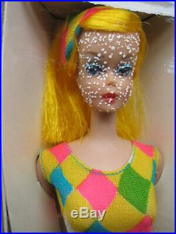 RARE Vtg Color Magic BARBIE #1043 Fashion Fun Set High Color Blond 1966 NRFB NIB