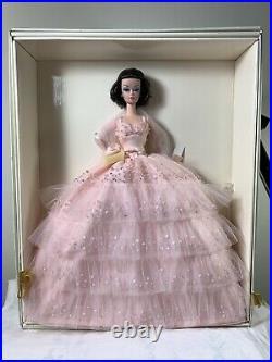 Silkstone Fashion Model In the Pink Barbie Doll NRFB +Matching Hallmark Ornament
