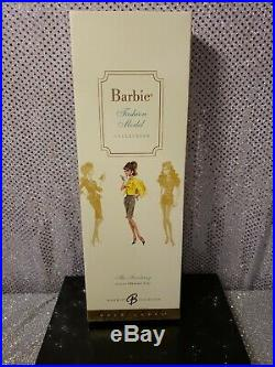The Secretary Silkstone Barbie Doll 2007 Gold Label Mattel L7322 Mint Nrfb