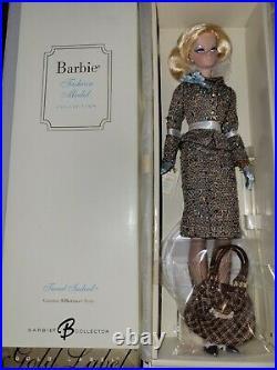 Tweed Indeed Barbie Fashion Model Gold Label NRFB