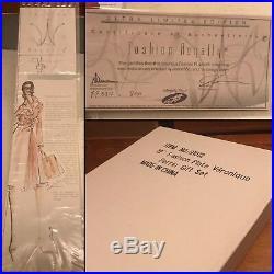 Veronique Perrin Mint Nrfb Fashion Plate Gift Set Jason Wu Fashion Royalty It