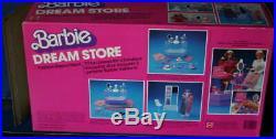 Vintage 1982 BARBIE DREAM STORE TRUE NRFB MIB with 3 Superstar era MOC FASHIONS