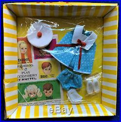 Vintage Barbie 1966 Tutti Fashion Ship Shape NRFB