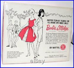 Vintage Barbie Japanese Two Day Dresses Fashion 2613 with sticker NRFB 1964