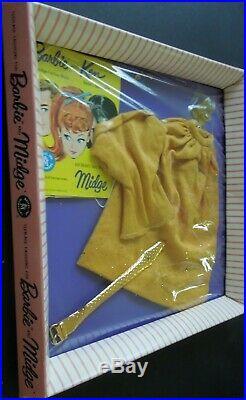 Vintage NRFB MIB MOC Mattel Barbie & Midge Fashion #1610 Golden Evening